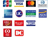 ご利用可能クレジットカードについて